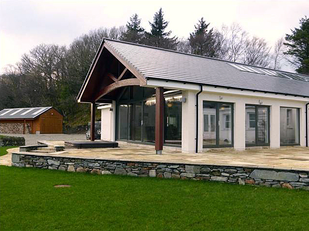 Lochgilphead Design Supply And Erection Of Fully Integrated Building Solutions Using Glulam